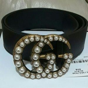 ♨Gucci belt pearls ♨
